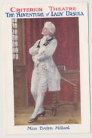 "Theatrical postcard - Evelyn Millard in ""Lady Ursula"" at Criterion Theatre (A11)"