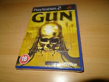 Gun (PS2) western shooter  pal version