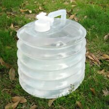 Bottle Folding Water Bucket Plastic Camping Water Bucket Collapsible Outdoor