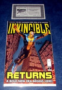 INVINCIBLE RETURNS #1 signed 1st print A iMAGE COMICS RYAN OTTLEY 1st app Thragg