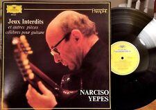 Narciso Yepes LP – Jeux Interdits Et Autres Pièces Célèbres Pour Guitare - NM