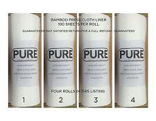 FOUR ROLLS - Norwalk Juicer - Bamboo Press Cloth Liner- Best Value & Price!