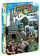 Travel the World with Kids 5 Disc DVD Set Tin Case Packaging