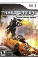 Transformers: Dark of the Moon Nintendo Wii Kids Game U