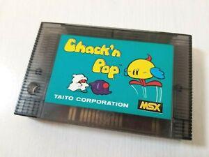 MSX Chack'n Pop Taito Japan 0210A1