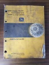 John Deere 444H & Ll Log Loader Tc44H Tool Carrier Parts Catalog Manual Pc2550