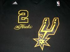 Kawhi Leonard 2 San Antonio Spurs NBA Finals adidas Black Jersey Men's 2XL used