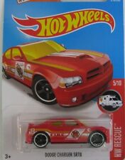 HOT WHEELS DODGE CHARGER SRT8 FIRE CHIEF ☆ RESCUE TREASURE HUNT 2016 ☆ NEW