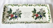 Boxed Portmeirion The Holly and The Ivy Sandwich Tray - NEW