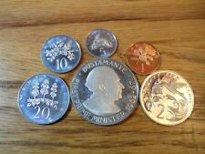 SIX 1973 PROOF COINS FROM JAMAICA ONE CENT TO ONE DOLLAR