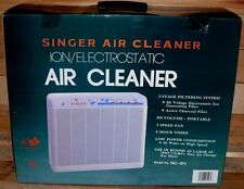 Singer IAC971 Profi Luftreiniger Aircleaner Ionen Filter Aktivkohle 72M 50W L1
