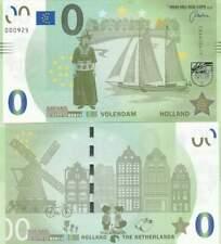 Biljet billet zero 0 Euro Memo - Volendam Holland (040)