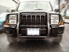 ATU Grill Brush Bumper Guard Push Bar Black for 2006-2013 Jeep Commander