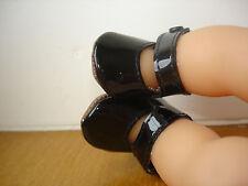 Chaussures noir bébé poupon tidoo calin trésor charmeur corolle 30 cm
