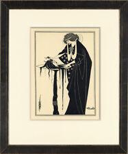 "Scarce 1907 Exhibition-Sized Salome PL XIV ""Dancer's Reward"" Aubrey Beardsley"