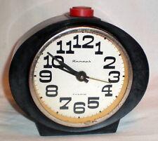 Russian Soviet Alarm Clock Yantar Ussr Watch Mechanical Original Retro Cccp 1970