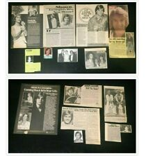 Shaun Cassidy COLLECTION of MAGAZINE CLIPPINGS & ARTICLES hardy boys tv show 70s