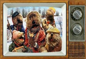 "Emmet Otter's Jug-Band Christmas TV Fridge MAGNET 2"" x 3"" art nostalgic retro"