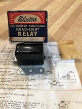 Vintage Chevy Ford Mopar Headlight Relay In Box Nos