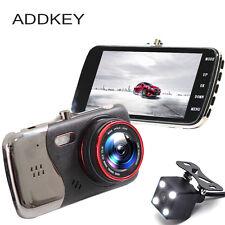 """4"""" IPS Screen Car DVR Dual Lens Full HD 1080P Rearview I810 Oncam Dash Camera"""