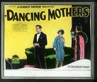 CLARA BOW DANCING MOTHERS MAGIC LANTERN GLASS SLIDE JAZZ AGE FLAPPER 1926
