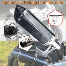 Universal Motorcycle Exhaust Pipe Muffler Slip On For Honda CB600F 2004-2007 ABS
