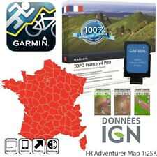 New listing carte pour Gps Garmin France Topo V4 pro