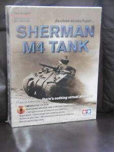 TAMIYA ABSOLUTE SHERMAN M4 TANK (Interactive CD-ROM) CASSELL & CO. 2001