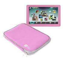 Case/Bag w/ Dual Zip For Elonex 50PMP Perfect Pink, & DV730 Portable DVD Player