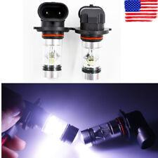 2x 9005 HB3 9145 H10 8000K ice-blue 100W LED Projector Fog Driving Light Bulb