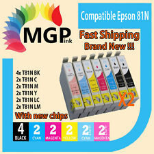 14x Generic ink cartridge 81N 82N 81 for Epson Artisan 725 730 835 837 635 1430