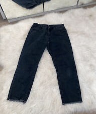 Missguided Cropped Mom Jeans Size 12