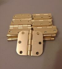 3in Stanley Hinges Brass, Lot of 25, Free Fast Shipping