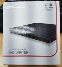 LG BLACK EXTERNAL ULTRA SLIM USB DVD CD WRITER BURNER RW & DL - CLEARANCE
