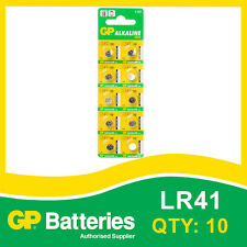 GP Alkaline Button Battery192 (LR41) card of 10 [WATCH & CALCULATOR + OTHERS]