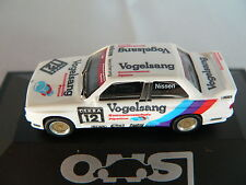 Herpa BMW m3 DTM 1990 #12 Kris Nissen Team Linder uccelli Sang protezione cavi, NUOVO + OVP