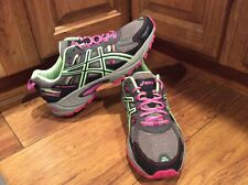 WOMENS ASICS GEL-VENTURE 5 TRAIL ATHLETIC SHOES SIZE 9.5 M