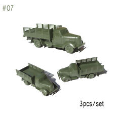 100pcs Military Soldiers Army Men Figures 12 Poses Aircraft Tanks Kids Toy #07 Truck