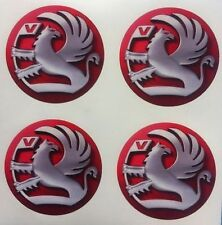 4 x 50 mm Wheel stickers fit VAUXHALL  center badge centre trim cap hub alloy xr