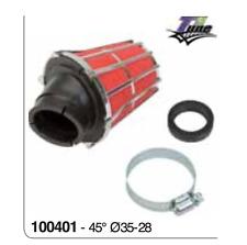 100401 Filtro aria CONO CONICO 45° Ø 35-28