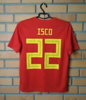 Spain Isco Jersey 2018 Home Youth 13-14 Adidas Shirt Football Soccer Trikot