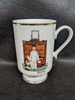 Danbury Mint Norman Rockwell Porcelain Mug 'The Discovery' Vintage 1981 Boy Gift