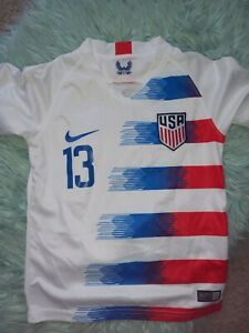 Kids USA NIke Morgan #13 Girls  Jersey Size 22 Small