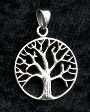 Pendentif Arbre de Vie-Celte-Bijou en Argent 925 4.4g -Tree of life 10029 W20