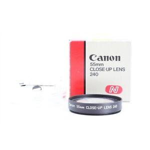 Canon 55 mm Close-Up Lens 240 Nahlinse A-0285 + TOP (229868)