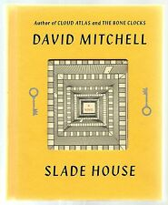 SIGNED Slade House by David Mitchell (2015, Hardcover) 1st Edition 1st Printing