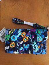 Vera Bradley Strap Wallet Midnight Blues NWT Free Shipping