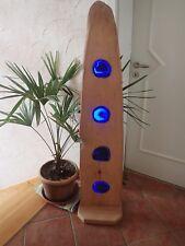 Stehlampe Standlampe Achat Achatscheiben LED Holz Unikat Geschenk Weihnachten