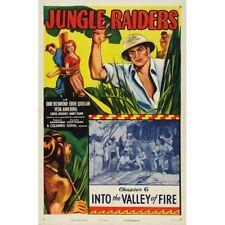 Jungle Raiders - Cliffhanger Serial Movie DVD Kane Richmond