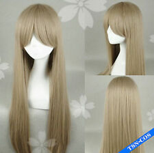 Axis Powers Hetalia APH Belarus  Long Straight Cosplay Party Full Wigs